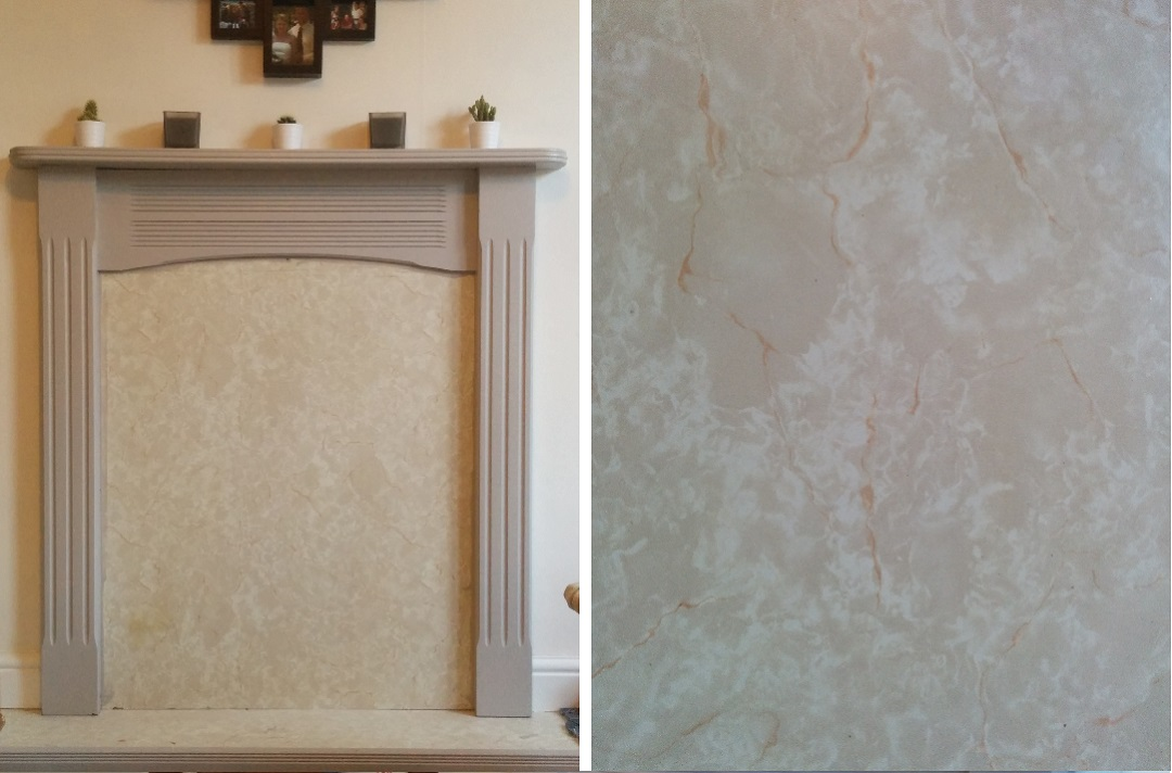 DIY-Blocked-Fireplace-painted-marble