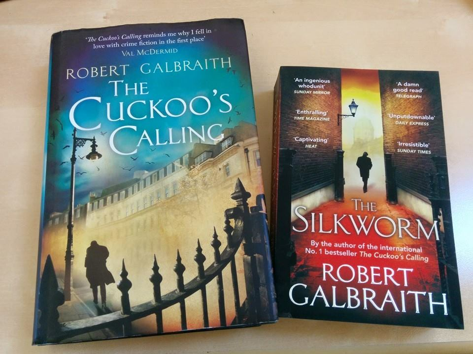 amazon-haul-the-cuckoos-calling-the-silkworm-robert-galbraith-jk-rowling