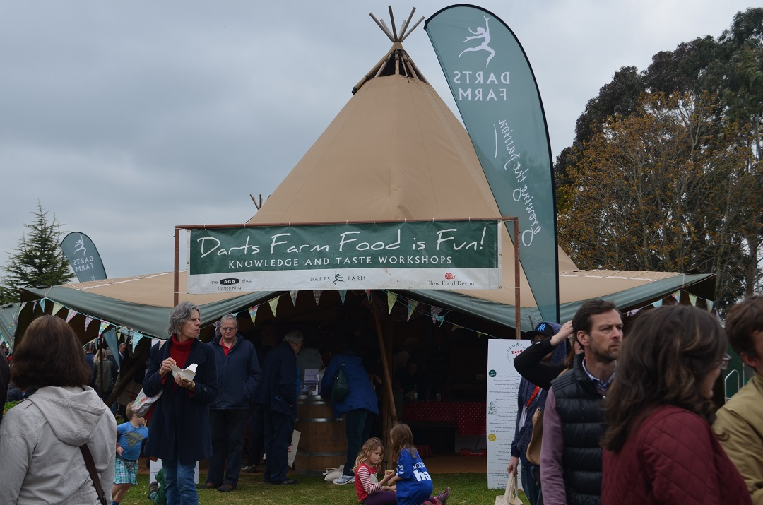exeter-festival-of-south-west-food-and-drink-darts-farm-tent